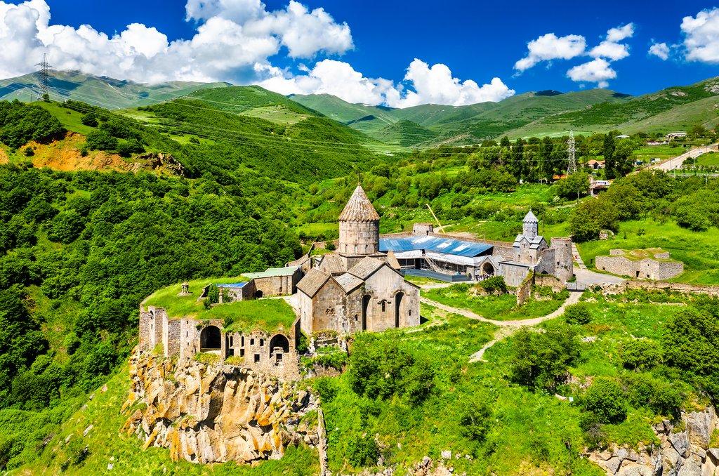 Aerial View of Tatev Monastery