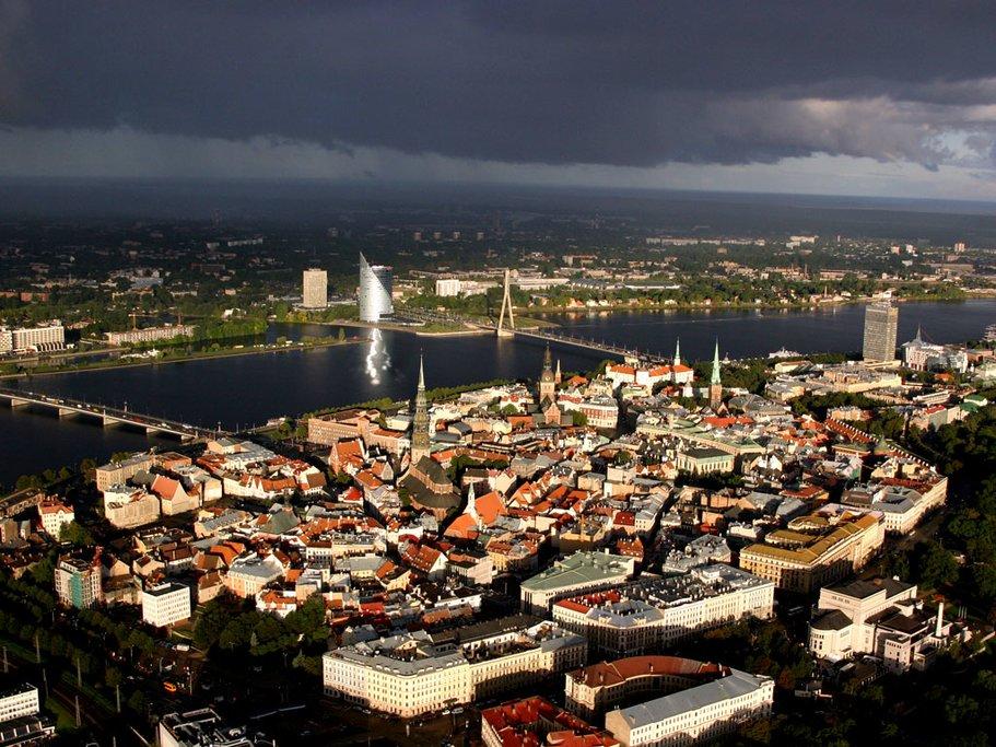 Riga Panoramic view