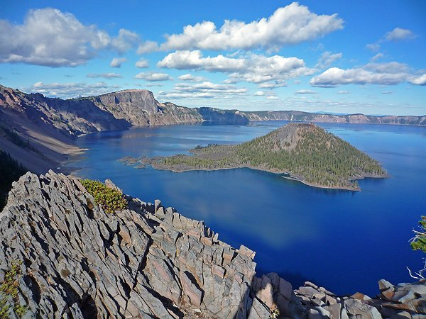 Crater Lake in Summer (Photo courtesy of of NPS)