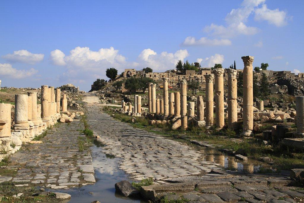 Jordan - Umm Qais ruins