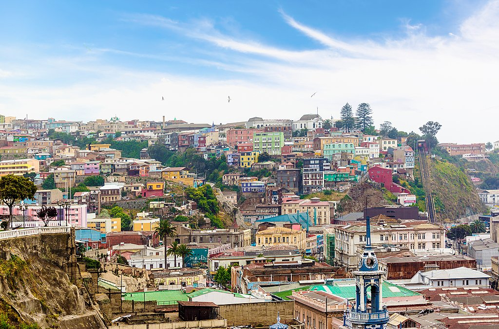 The hills of Valparaiso