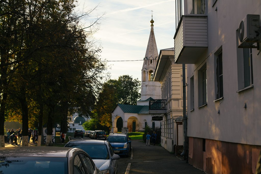 Old-town Yaroslavl