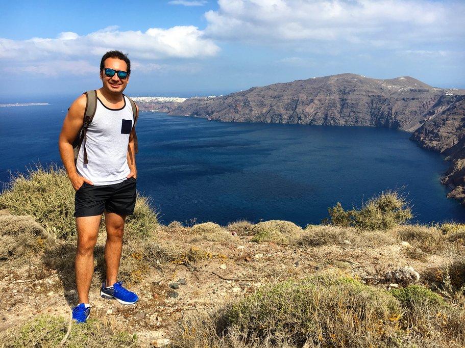 Hiking the Caldera
