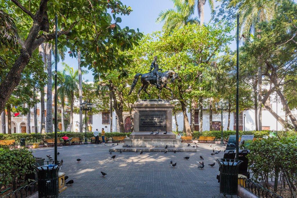 Centro Historico Area of Cartagena