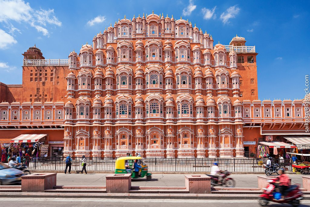 The Hawa Mahal, Jaipur