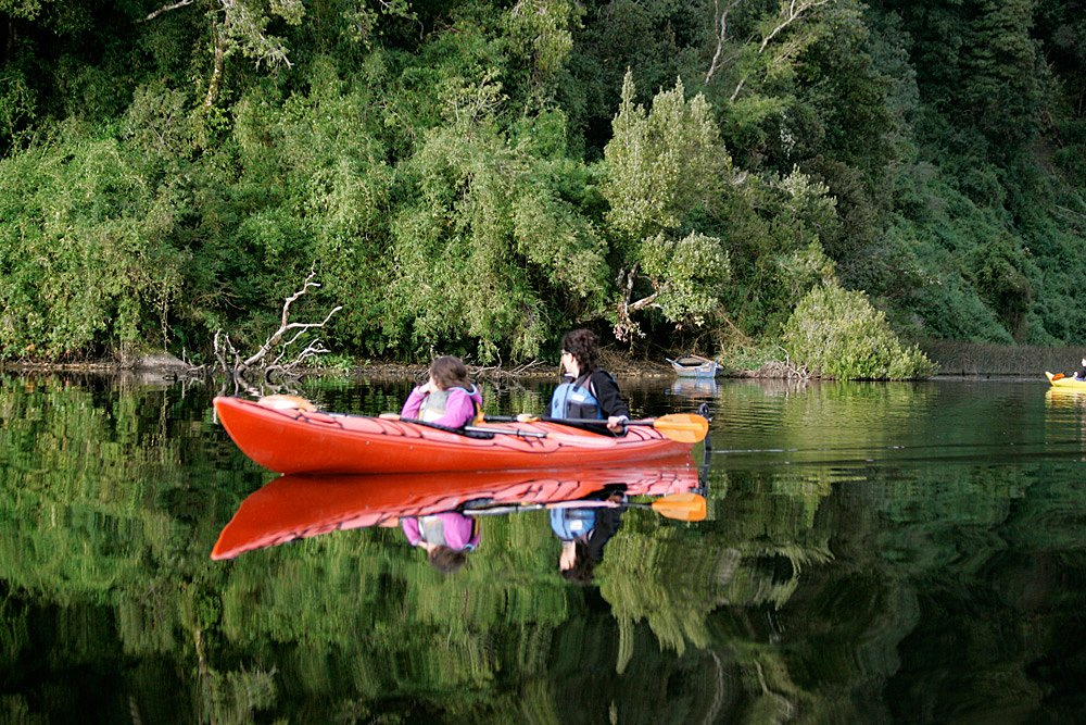 Kayaking in Huerquehue National Park