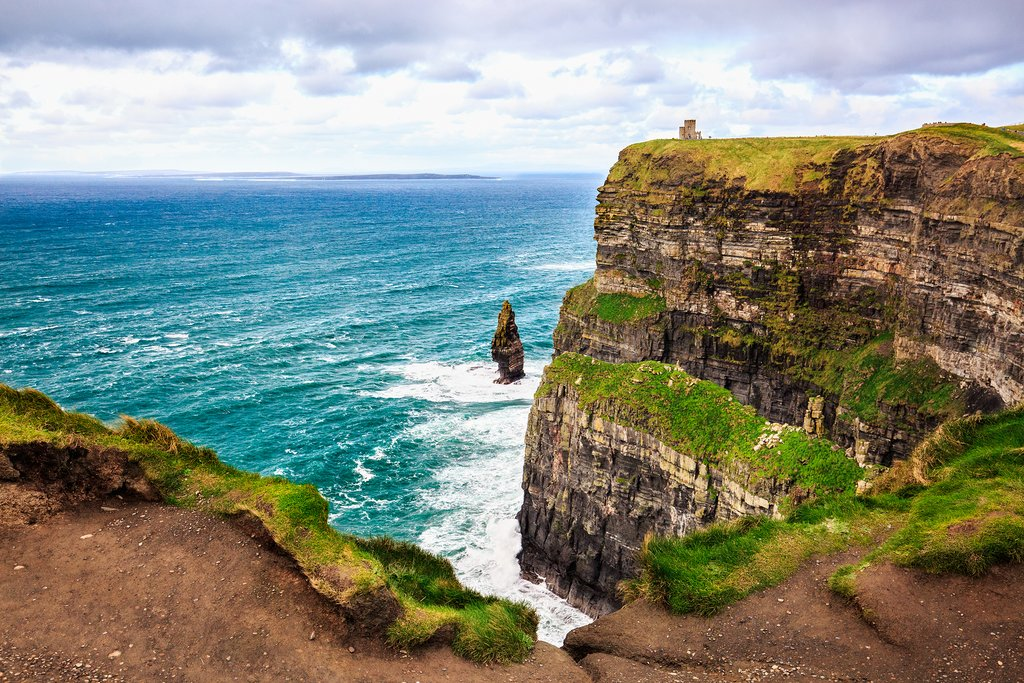 The Cliffs of Moher in County Clare, Ireland