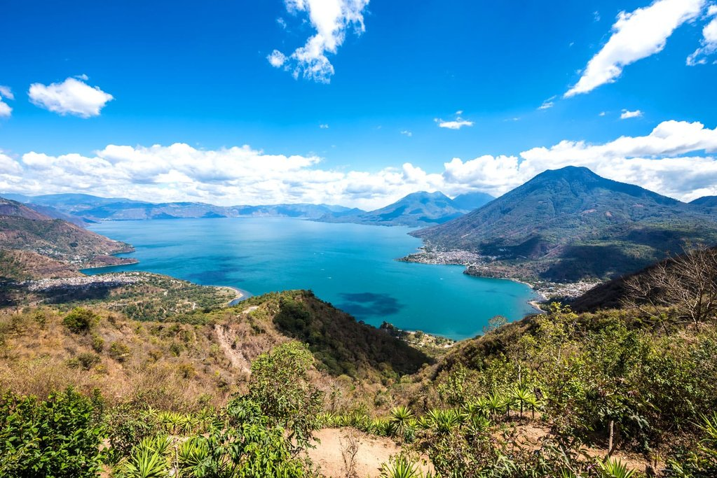 View of Lake Atitlán