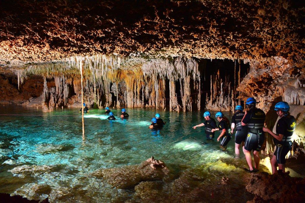 Making your way through the underground waterways