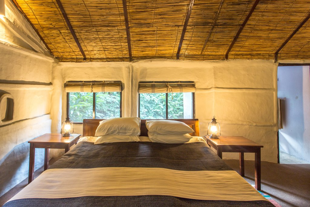 Accommodations at Tiger Tops Tharu Lodge