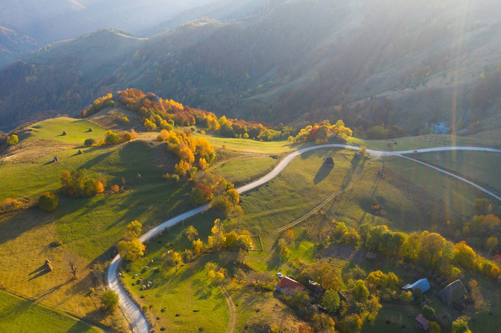 Beautiful Transylvanian Countryside