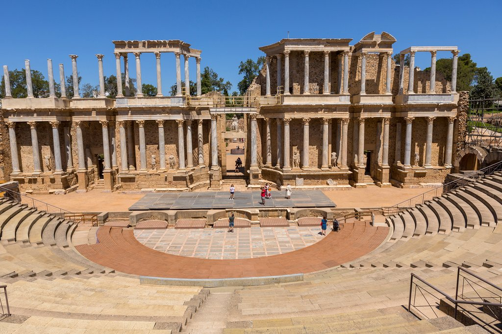 The Roman Theater, Mérida