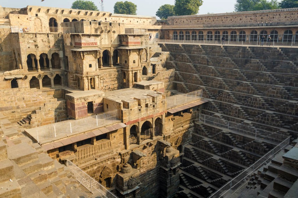 Chand Baori - the deepest and biggest step well in Asia