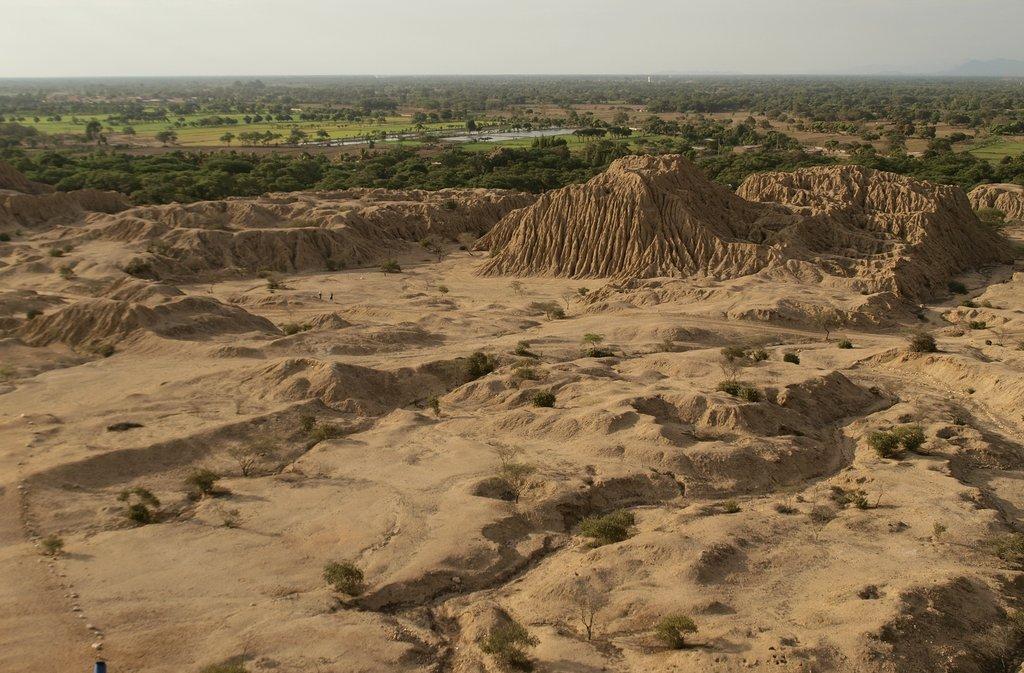 Drive to the Pyramids of Tucume near Chiclayo