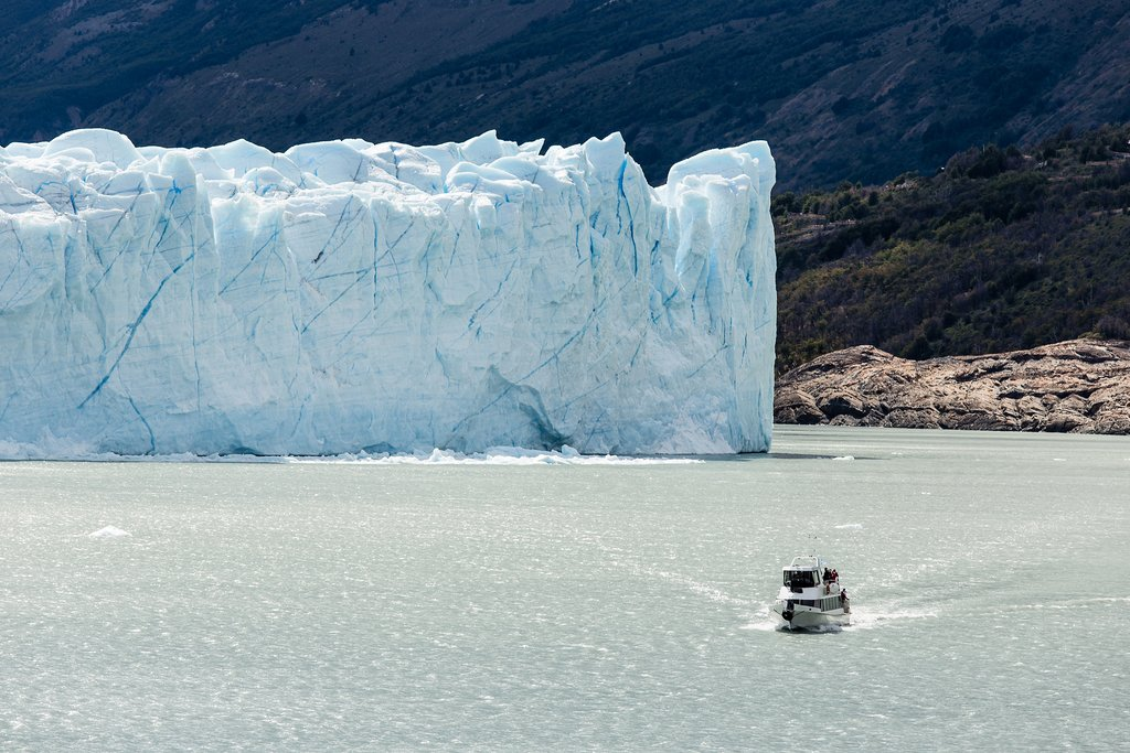 Cruising is the best way to get close to the glaciers