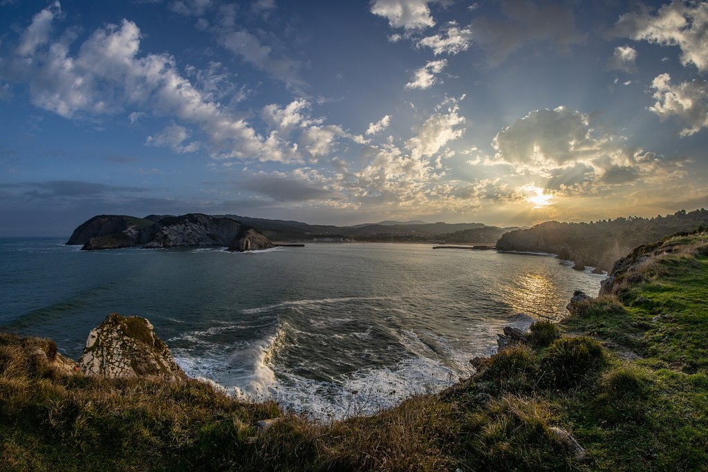 It doesn't get more beautiful than the Basque Coast