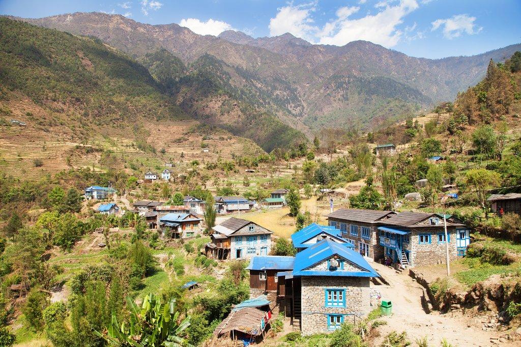 Kharikhola village
