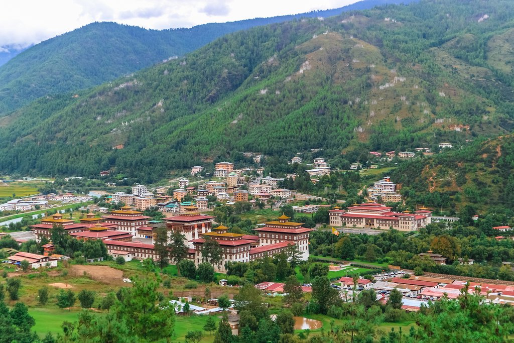 Royal Palace of Tashichho-Dzong