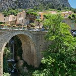 Moustiers-Sainte-Marie, possibly the most beautiful villages in France