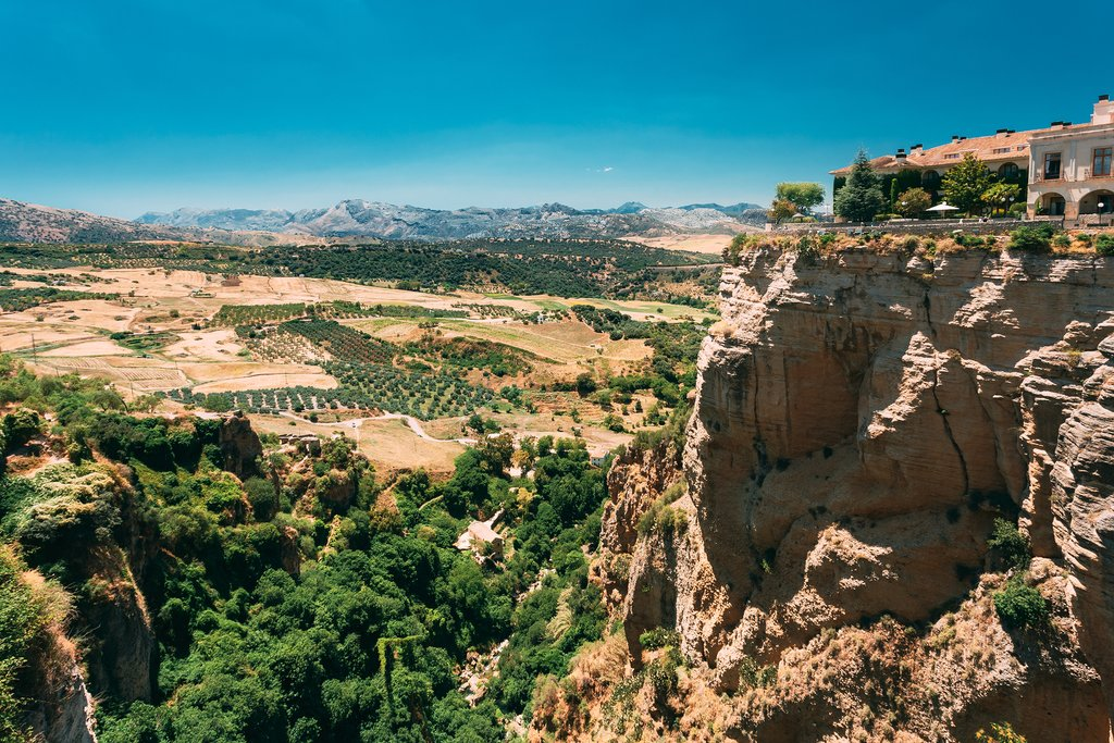 The Ronda Gorge in Spain