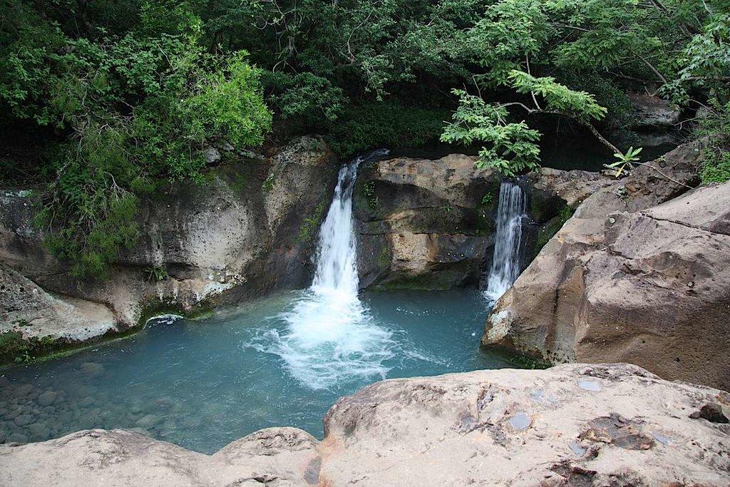 The waterfalls of Rincón de la Vieja