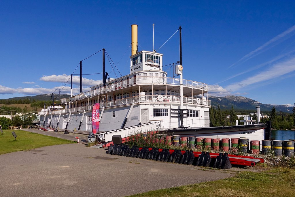 Take a self-guided tour of the S.S. Klondike