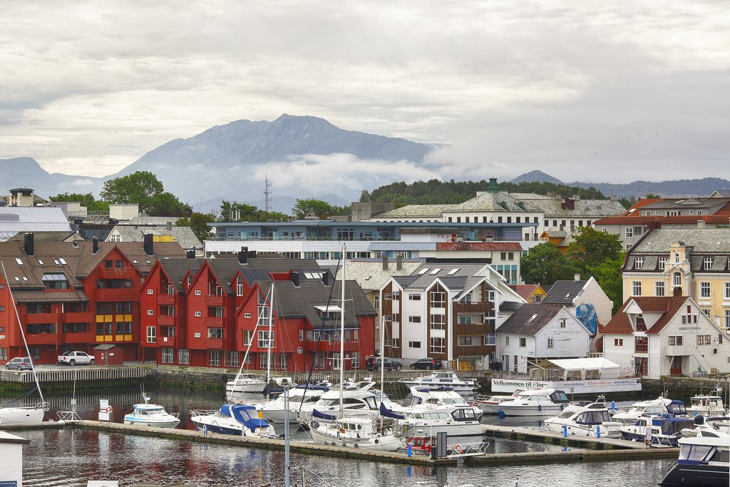 Florø is Norway's westernmost town
