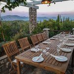 Scenic restaurant on Korčula