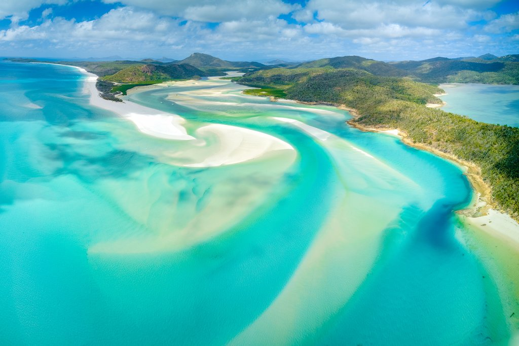 Hill Inlet View - Whitehaven Beach