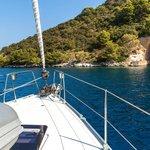 Sailing Vis to Lastovo via The Blue Cave