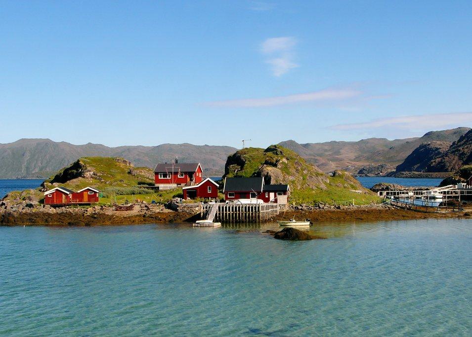Village near the North Cape