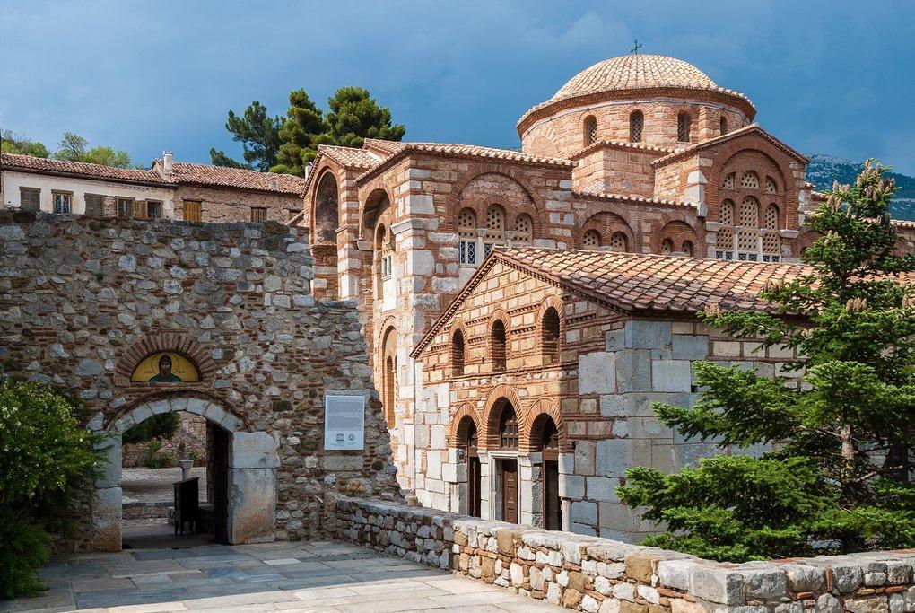 Monastery entryway