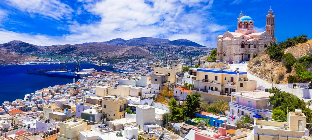 The Stunning Hillside Town of Ano Syros