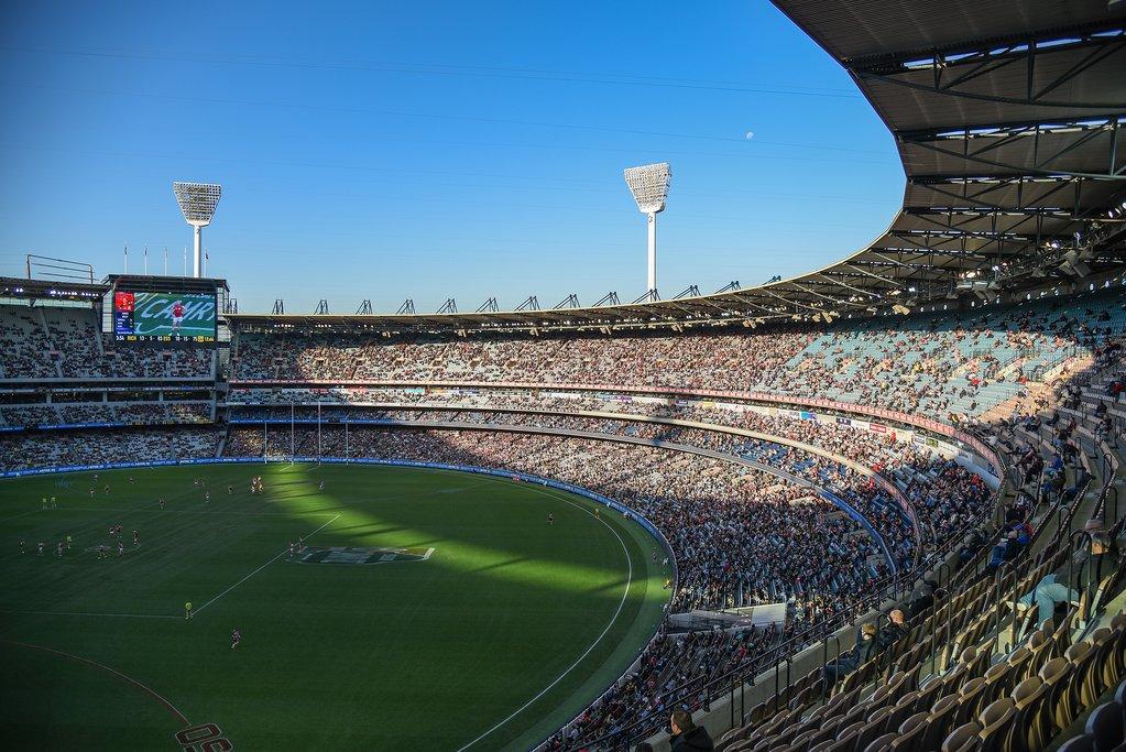 Australia - Melbourne - Melbourne Cricket Ground at Yarra Park