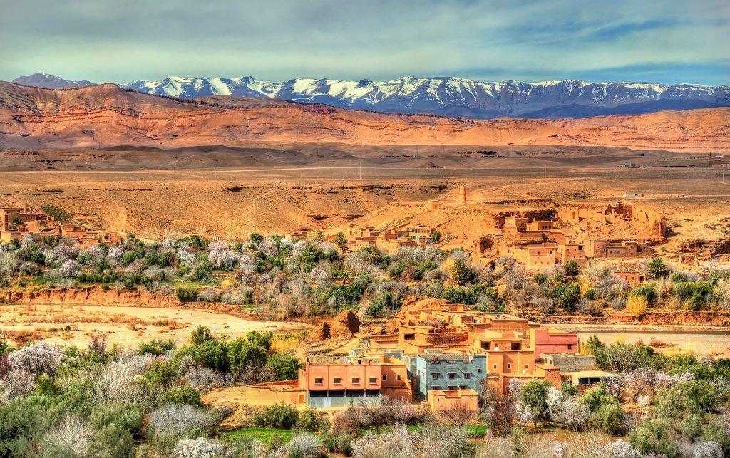 Kela'a M'gouna, Morocco