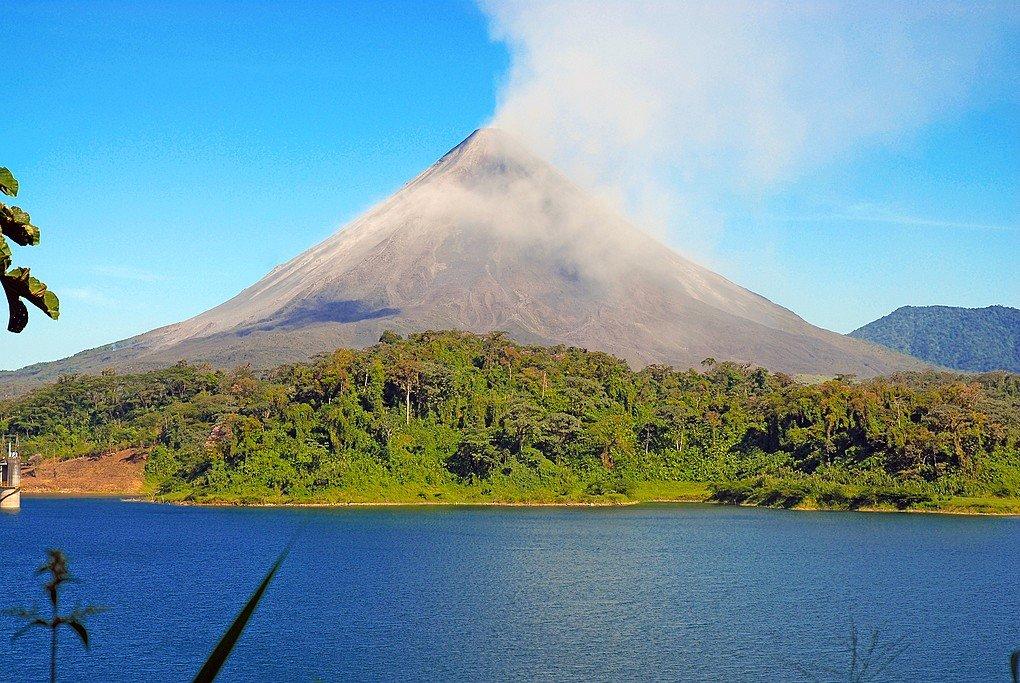 Arenal Volcano and Lake Arenal