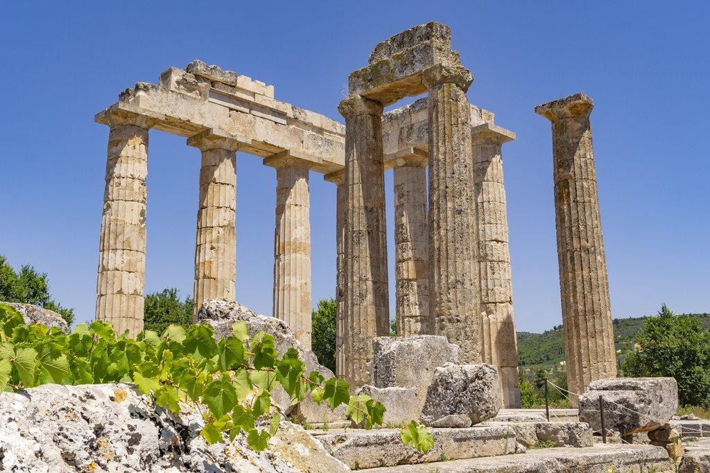Ancient Temple in Nemea