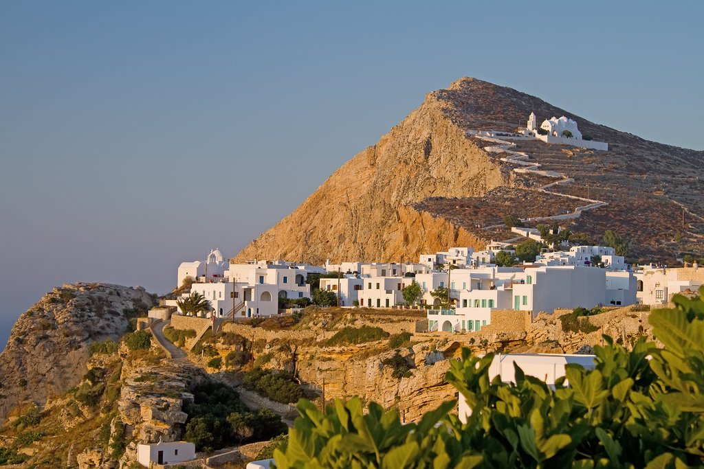Folegandros Island and the Church of Virgin Mary