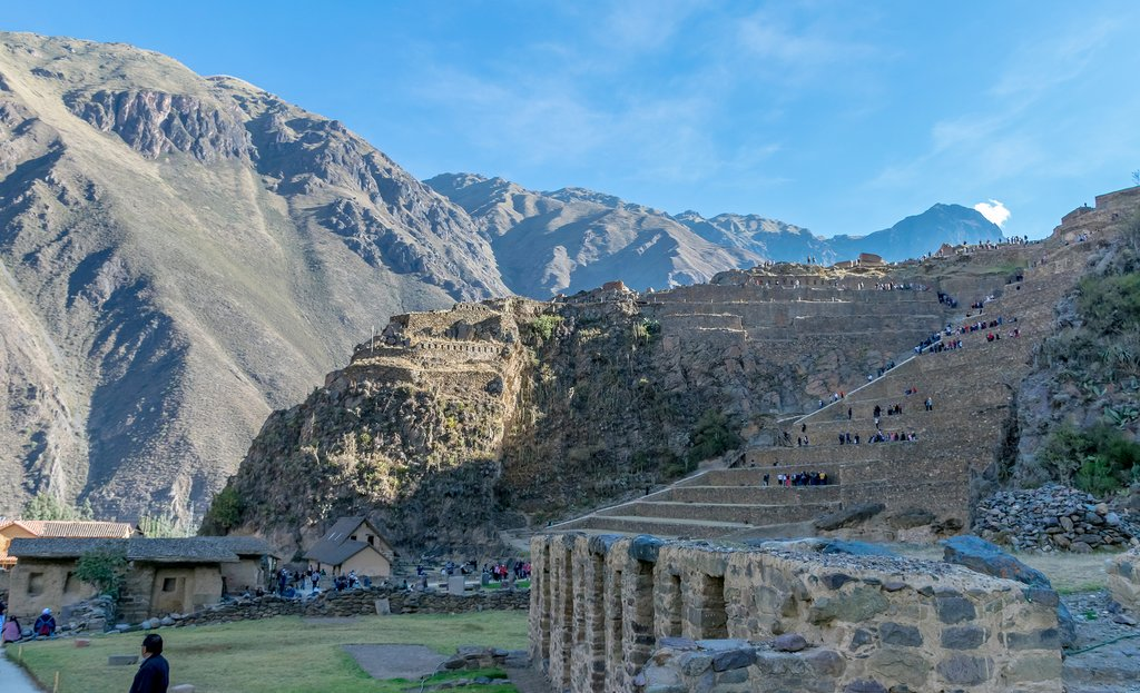 Ollantaytambo in the Sacred Valley, Peru