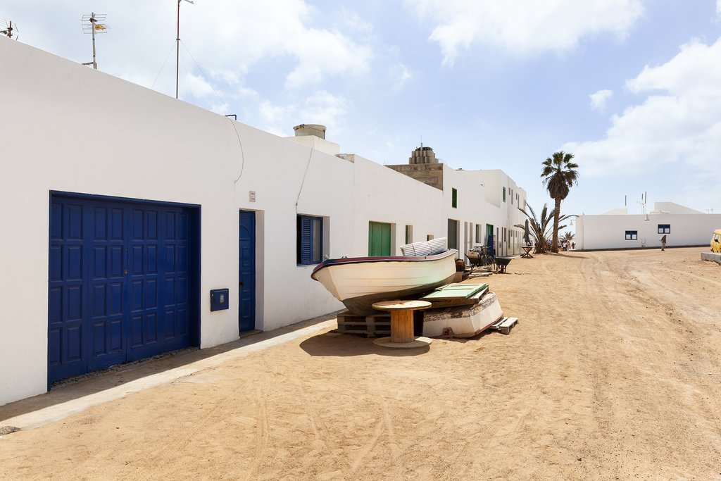 Sandy Streets of La Graciosa