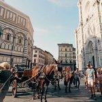 Strolling through Florence