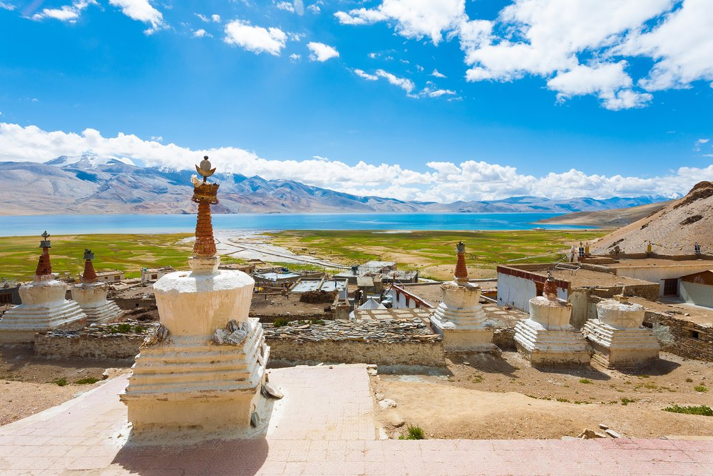 Check out Karzok's monastery before getting on the road