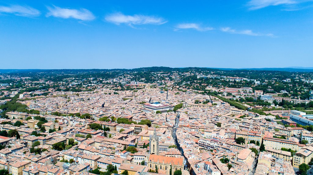 Your destination: the city of Aix-en-Provence