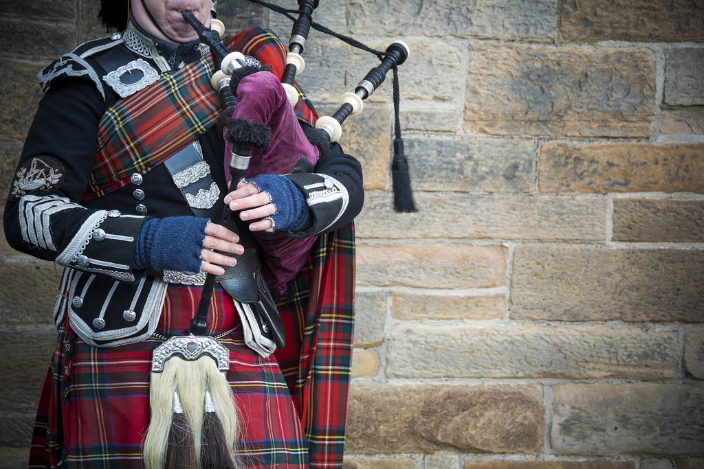 Scotland - Edinburgh - Bagpipes