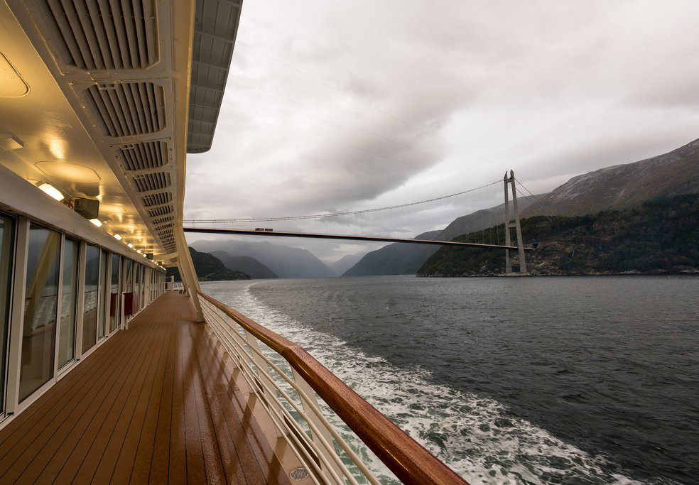 Another scenic boat ride in the Hardangerfjord—this time to Norheimsund