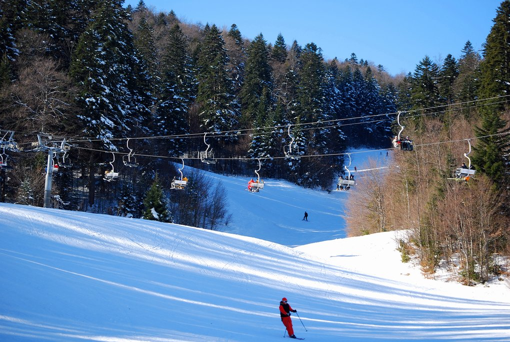 Bosnia Herzegovina - Bjelasnica skiing
