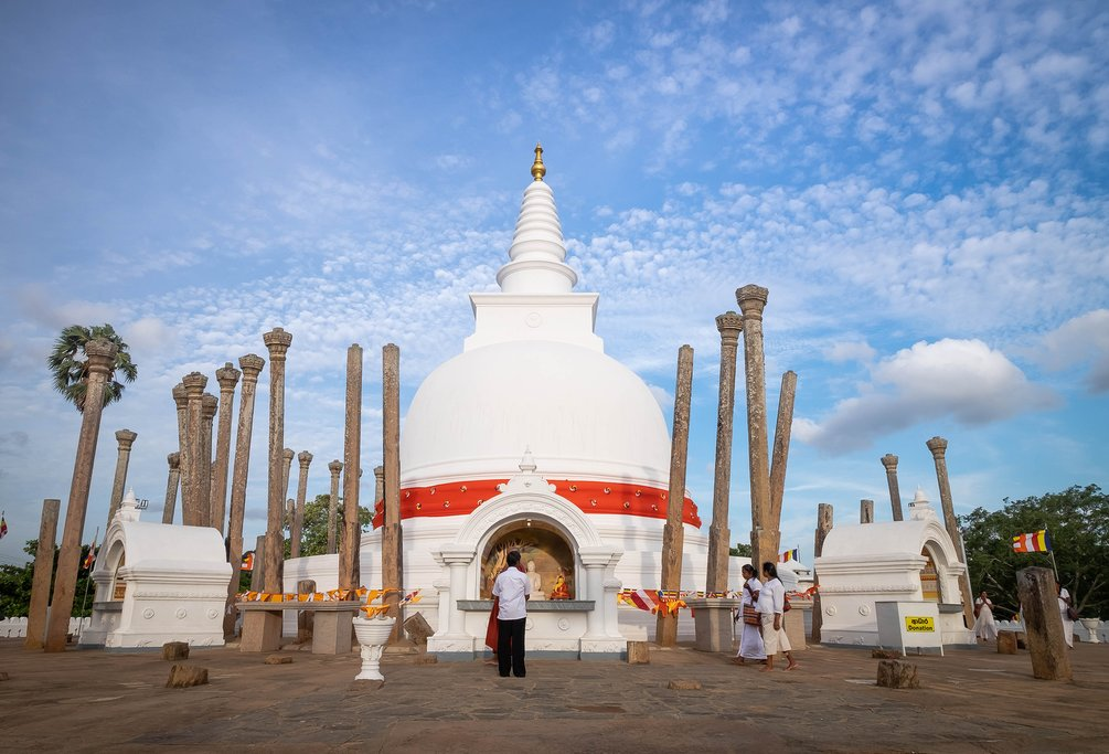 Anuradhapura served as the Sinhalese capital for on/off 2000 years