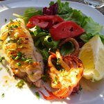 Grilled Cuttlefish with vegetable salad