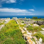 Mountain views from ancient Thera
