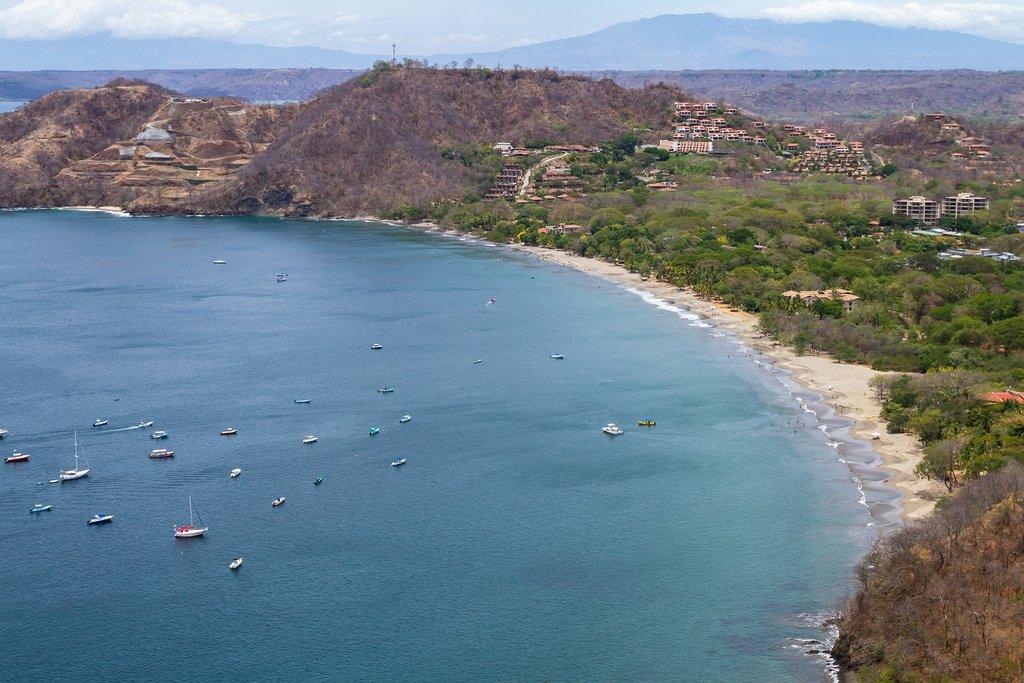 An aerial view of Hermosa Beach